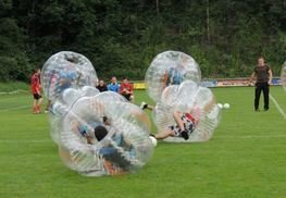 Bubble Soccer in Stans